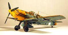 Messerschmitt Bf 109 E7 1/48 Scale Model