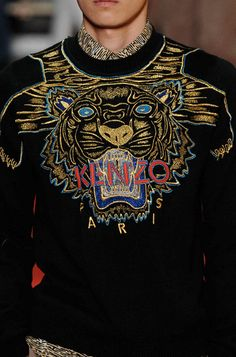 tiger sweater - new arrival coming at Kenzo soon! http://journal.stylealphabet.com/