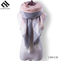 51cd5d43e Aliexpress.com : Buy 140*140cm Fashion Winter Scarf For Women Scarves Wrap  Luxury