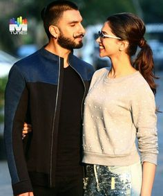"""btw i didnt like the couple just loved depika""""s smile! Ranveer Singh, Together Forever, Aishwarya Rai, Cute Pins, Bollywood Actors, Western Outfits, Deepika Padukone, Celebrity Couples, Couple Goals"""