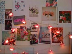 ligths, mmmm... cute decoration room