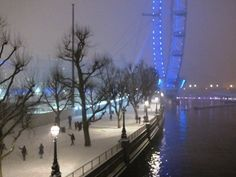 A London winter wonderland