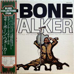 T-BONE WALKER / ORIGINAL 1942- 47 PERFORMANCE / BLUES / TOSHIBA JAPAN OBI