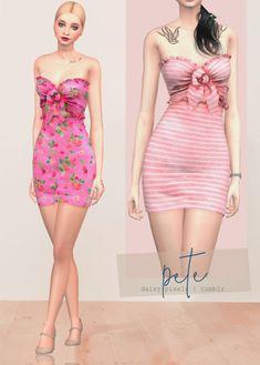 Lana CC Finds - daisy-pixels: - ̗̀ Pete Dress ̖́- ...