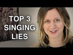 3 Lies about Singing You Should NOT Believe - Felicia Ricci
