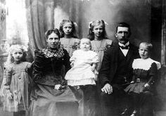 The Anderson family from Sweden. All five children were under the age of twelve. No one in the family survived the sinking of Titanic. They were in third class.