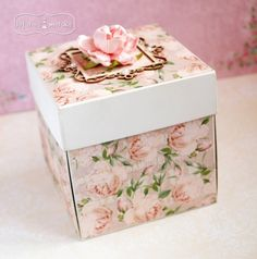Scrapbook Box, Diy Tassel, Card Tricks, Exploding Boxes, Shaped Cards, Easel Cards, Explosion Box, Card Tutorials, Wedding Humor