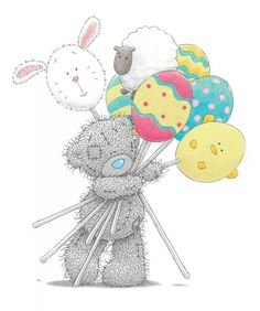Easter tatty teddy