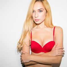 4bd78b313a43f Meet our new Red Stay-Up Strapless. Amazing lift   cleavage in the hottest  shade. ♥  u…