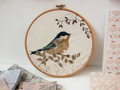 stunning embroidery (found via decor8) by Rosemary Milner