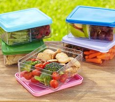 Spencer Dual Compartment Food Storage #PotteryBarnKids-$12.50