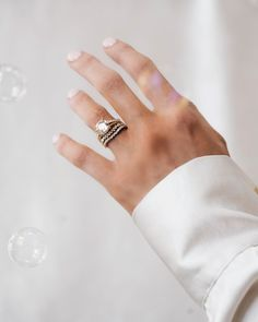 This new engagement ring setting, the Valencia, has the perfect amount of sparkle.