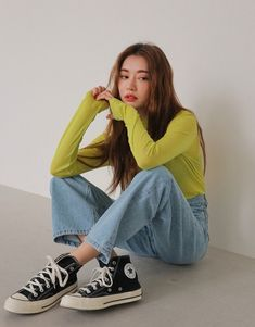 Female Pose Reference, Pose Reference Photo, Art Reference Poses, Korean Outfits, Mode Outfits, Fashion Outfits, Korean Shoes, Fashion Fall, Fashion Men
