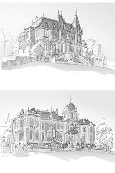 Novas artes de Scott Watanabe para Big Hero 6! | THECAB - The Concept Art Blog