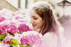 flowers and rays of sunshine