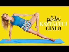 PILATES 🦋 Kształtuj ciało   Brzuch   Nogi - YouTube Pilates, Trunks, Swimming, Youtube, Swimwear, Pop Pilates, Drift Wood, Swim, Bathing Suits