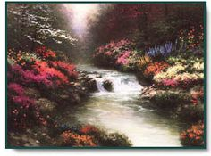 Beside Still Waters ~ Thomas Kinkade