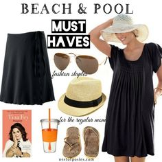 Beach & Pool Must Haves for the Curvy Mom