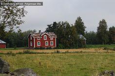 Gård - Tila, Ytterjeppo - Alaveteli Cabin, House Styles, Home Decor, Decoration Home, Room Decor, Cabins, Cottage, Interior Design, Home Interiors