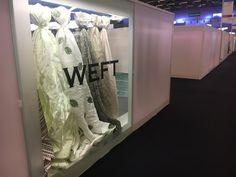 #premièrevision #paris #ss18 #weft #madeincomo #madeinitaly #fabric #jacquard