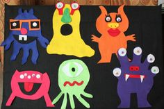 Felt Monsters: Go Away Big, Green Monster