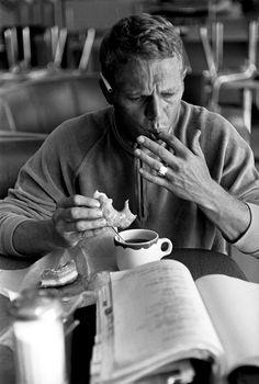 voxsartoria — Donut Mornings. Steve McQueen.
