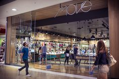 Move Thin Type Sign on Timber Shopfront Retro Furniture Australian Interior Design Awards