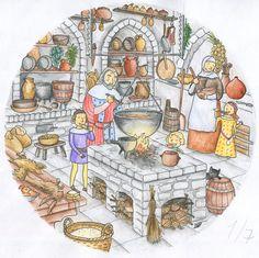 Karel IV., černá kuchyně