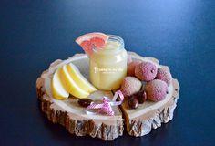 Recette de Noël : Compote litchi pomme pamplemousse pour bébé (Dès 6 mois). Miam, idéal pendant la diversification alimentaire ce mariage de saveurs !