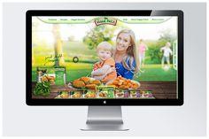 Veggie Patch Concept by Megan McLachlan, via Behance Food Web Design, Veggie Patch, Patches, Veggies, Behance, Concept, Vegetable Recipes, Vegetables