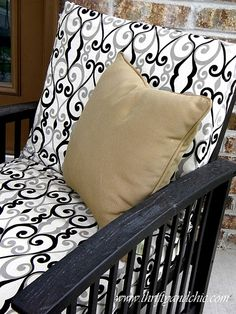 Need to make patio cushions in the spring for our uncomfy patio chairs