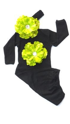 Layette Gown Newborn Take Home Outfit With Flower and  by LilMamas, $30.00