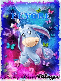 He is absolutely gorgeous Eeyore Images, Eeyore Pictures, Winnie The Pooh Pictures, Cute Winnie The Pooh, Winnie The Pooh Quotes, Winnie The Pooh Friends, Disney Pictures, Pooh Bear, Tigger