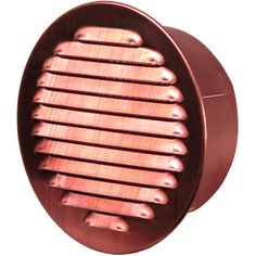 Round Soffit Vent With Screen