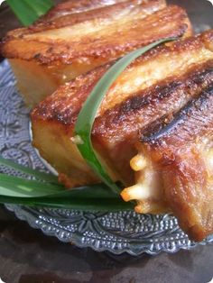 Les Cuisines de Garance: Poitrine de Porc fermier grillée à la mode vietnam...