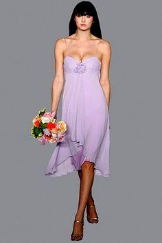 Cascading Chiffon Bridesmaids Dress (4D0049)