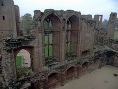 John of Gaunt's Great Hall, Kenilworth Castle  This is where the ceremony will be