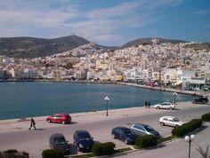 Syros Greece, San Francisco Skyline, Island, Travel, Block Island, Viajes, Islands, Destinations, Traveling