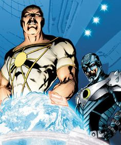 Apollo & Midnighter from The Authority/Stormwatch