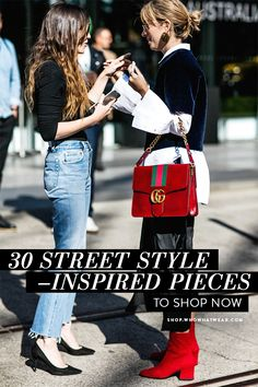 As fall rolls around, the latest street style shots from New York Fashion Week unleash a fresh dose of inspiration. Shop these picks for a serious sartorial boost… Looks Street Style, Looks Style, Style Me, Basic Style, Girl Style, Look Fashion, Winter Fashion, Womens Fashion, Fashion Trends