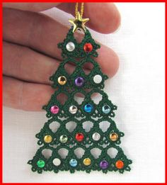 Tatting 80 - Free-Standing Christmas Tree Tatting Designs by Murphy's Designs