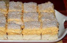 Tepsis Raffaello - habkönnyű kókuszos sütemény | Egy az egyben Cherry Cake, Hungarian Recipes, Baking And Pastry, Christmas Sweets, Something Sweet, Sin Gluten, Cake Cookies, Fun Desserts, Food Pictures