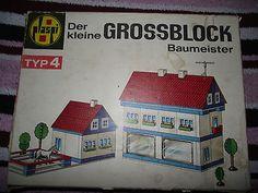 Grossblock Baumeister Typ 4 VEB Plaspi DDR OVP seltener Baukasten . in Sammeln & Seltenes, DDR & Ostalgie, DDR   eBay!