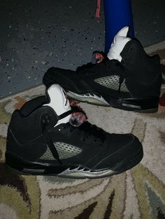 a669795e39 Unisex Shoes · Nike Air Jordan Retro 5 Black And Red. Youth Size 6.5  #fashion #clothing