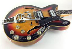 Vox Ultrasonic 1976 Sunburst Guitar