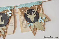 Tutorial -Thankful Banner by Becki Adams