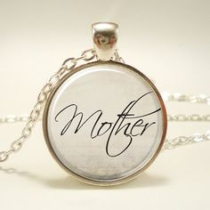 Mothers Day Gift Idea Gifts For Mom Mom Necklace by rainnua, $14.45