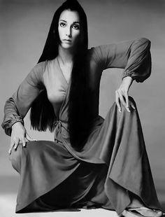 Richard Avedon Cher for Vogue november 1969