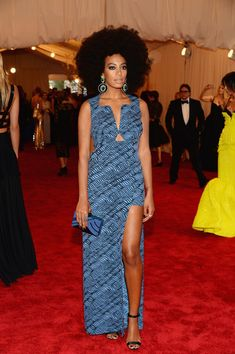 Solange Knowles - Red Carpet Arrivals at the Met Gala