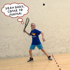 Racquetball Player - used to have this poster hanging on ...